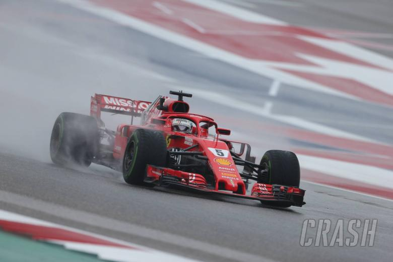 F1: Vettel hit with three-place grid penalty for United States GP