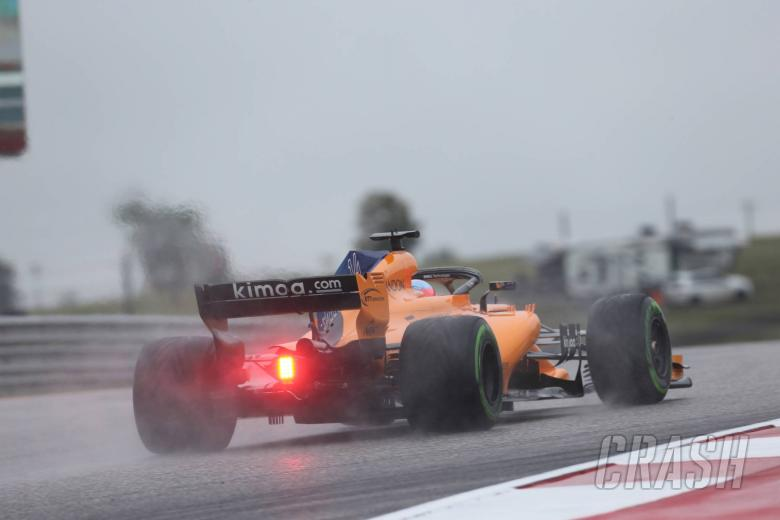 F1: F1 United States GP - FP2 Results
