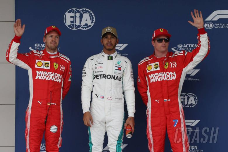 F1: F1 United States GP - Starting Grid