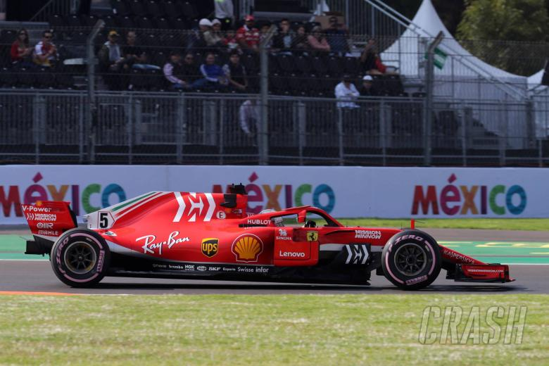 F1: Vettel: Drivers 'on the limit' with tyres in Mexico