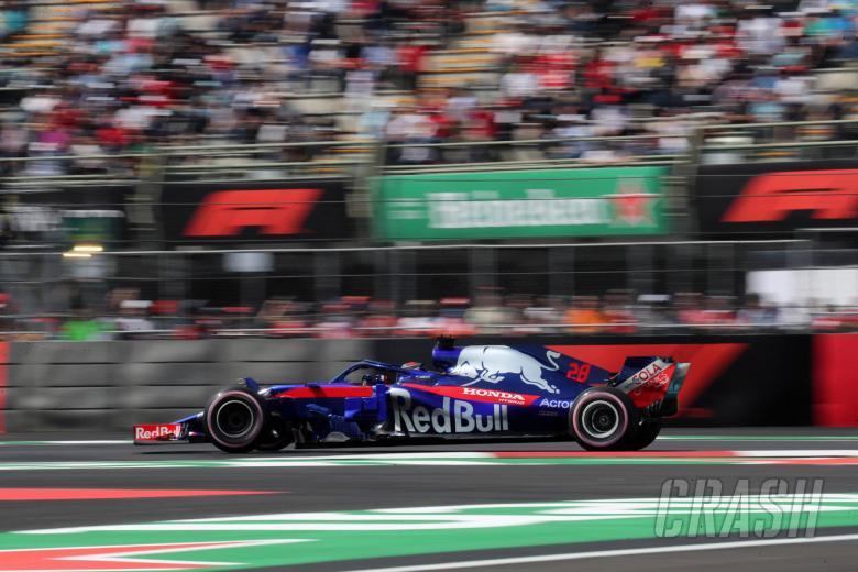 26.10.2018 - Free Practice 2, Brendon Hartley (NZL) Scuderia Toro Rosso STR13