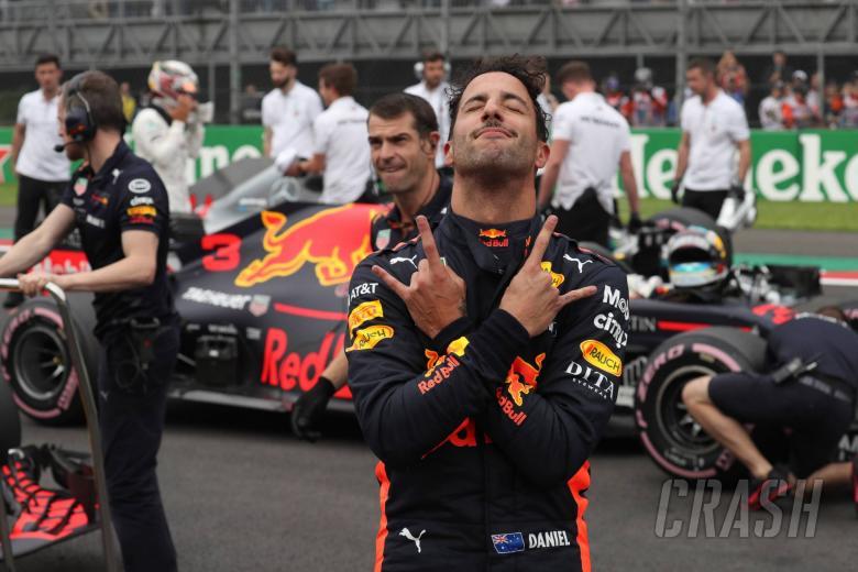F1: Ricciardo didn't mean to rile Verstappen with Mexico celebration