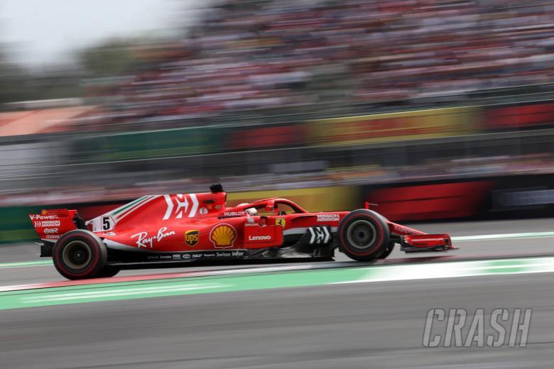 28.10.2018 - Race, Sebastian Vettel (GER) Scuderia Ferrari SF71H