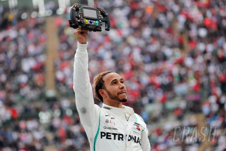 F1: Hamilton 'very humbled' to win fifth F1 world title
