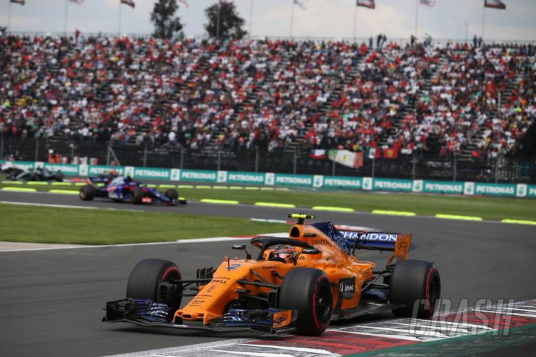 F1: Vandoorne happy to be 'noticed' with points finish in Mexico