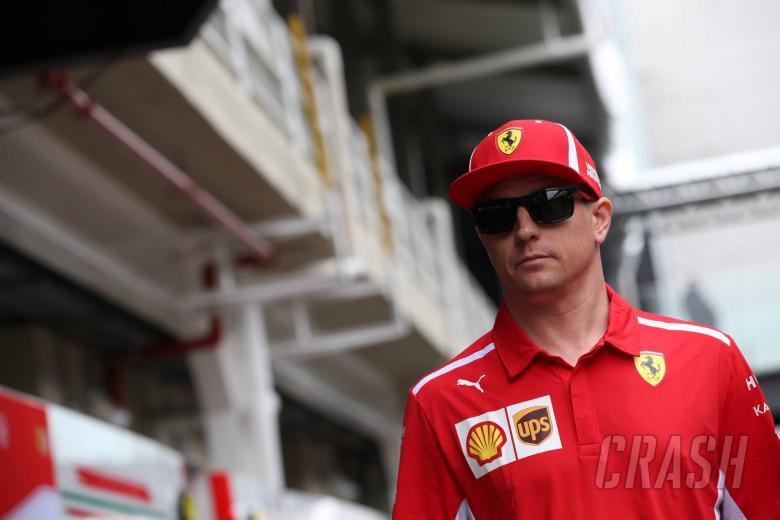 08.11.2018 - Kimi Raikkonen (FIN) Scuderia Ferrari SF71H
