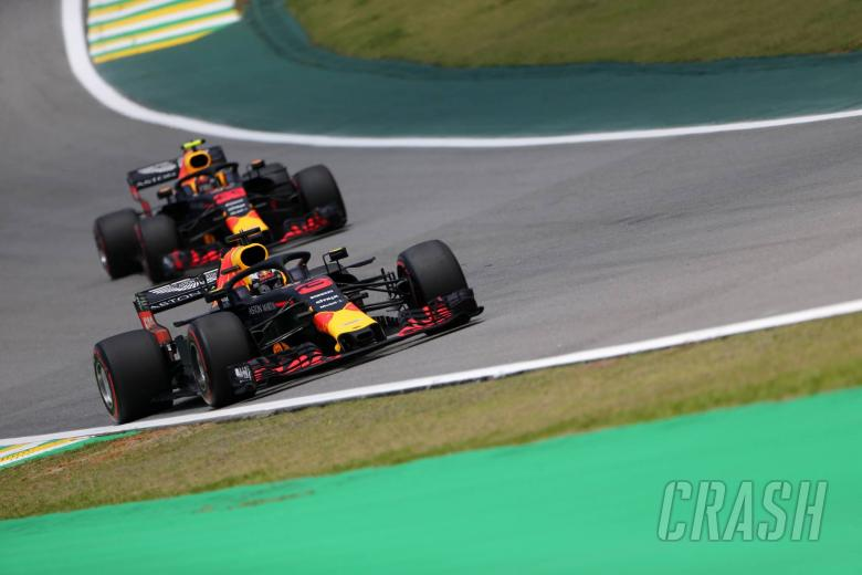Red Bull duo rule out challenging for Brazil GP pole