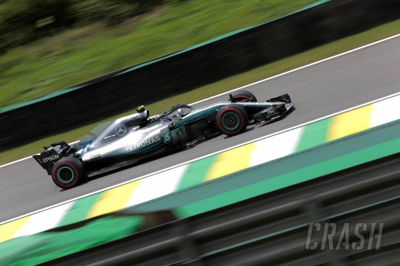F1: Bottas leads Mercedes one-two in Brazil FP2