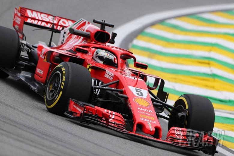 Ferrari: Sensor problem compromised Vettel's Brazilian GP