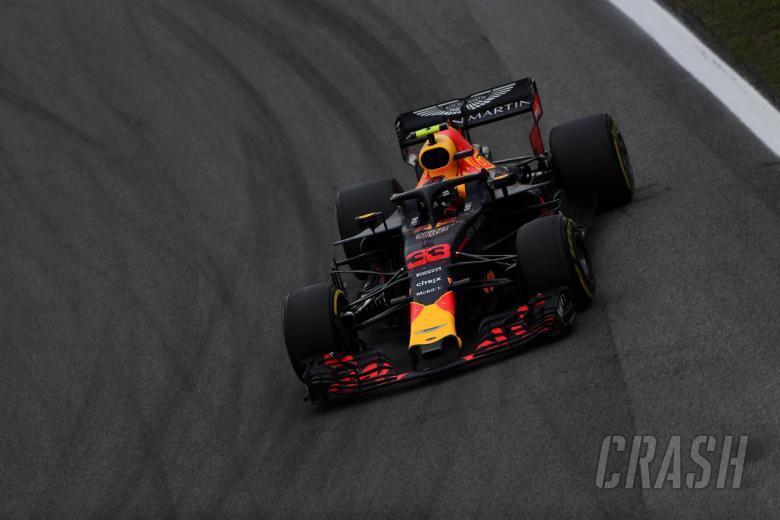 F1: VIDEO: Verstappen pushes Ocon after Brazil F1 clash