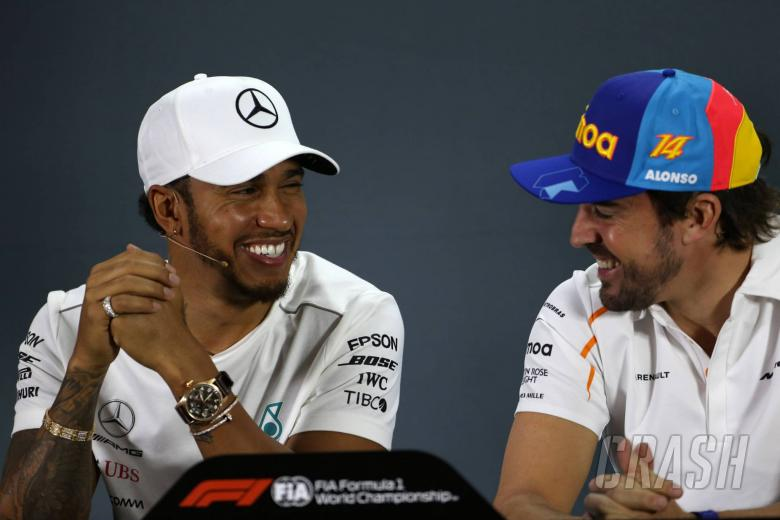 """F1: Hamilton reflects on """"good times and bad times"""" in Alonso relationship"""