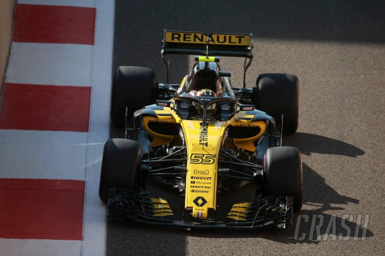 23.11.2018 - Free Practice 1, Carlos Sainz Jr (ESP) Renault Sport F1 Team RS18