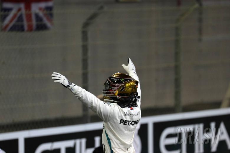 24.11.2018 - Qualifying, Lewis Hamilton (GBR) Mercedes AMG F1 W09 pole position
