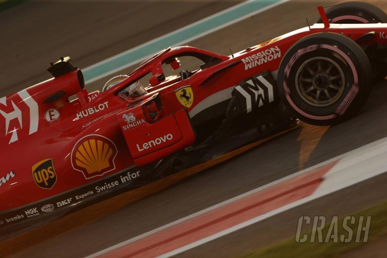 24.11.2018 - Qualifying, Sebastian Vettel (GER) Scuderia Ferrari SF71H