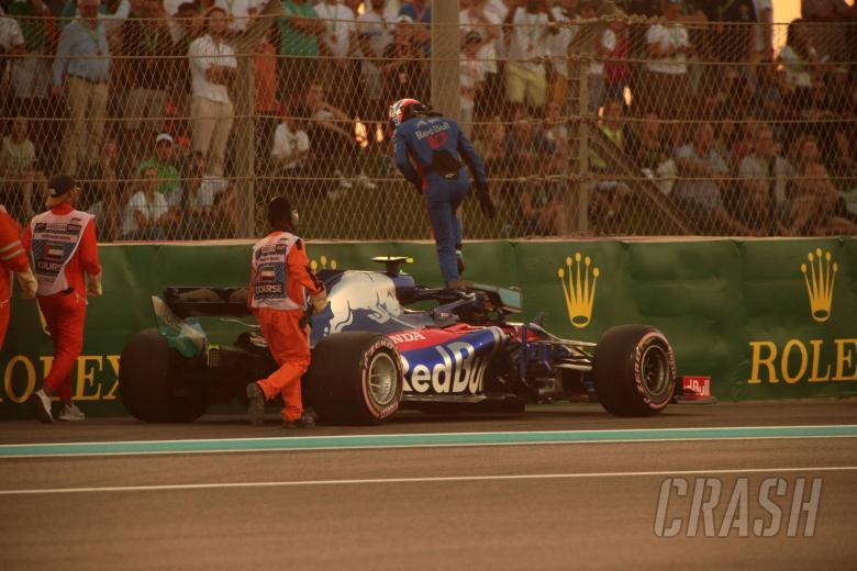 F1: Gasly explains Grosjean clash, Honda engine issue