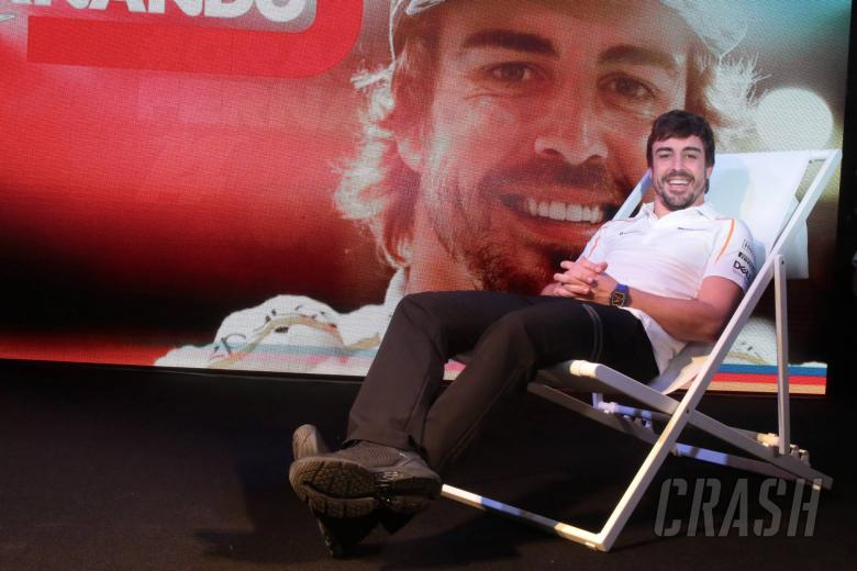 F1: Formula 1 bids farewell to Alonso at paddock party