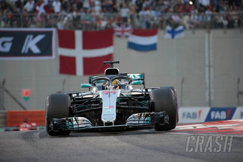 25.11.2018 - Race, Lewis Hamilton (GBR) Mercedes AMG F1 W09