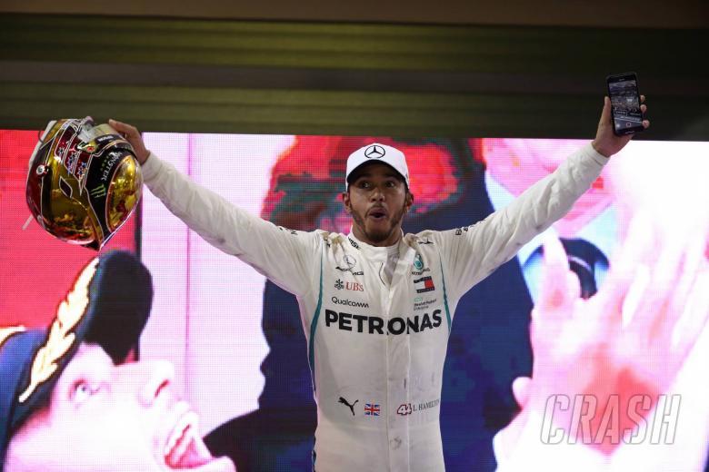 25.11.2018 - Race, Lewis Hamilton (GBR) Mercedes AMG F1 W09 race winner