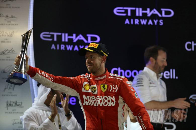 F1: Vettel 'tried everything' to beat Hamilton in Abu Dhabi F1 finale