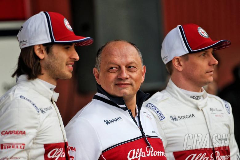 F1: F1 2019 a 'big opportunity' for Alfa Romeo - Vasseur