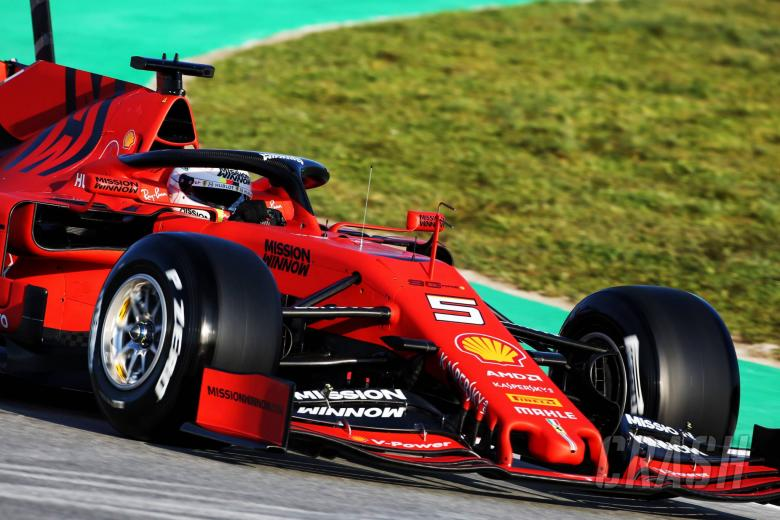 F1: Barcelona F1 Test 1 Times - Monday 12PM