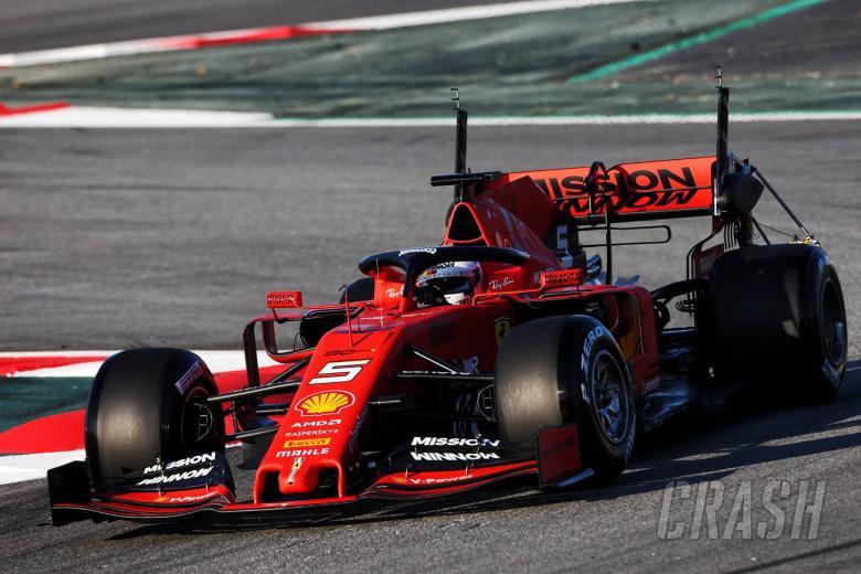 Tes F1 Barcelona 1 Kali - Senin pukul 1 siang