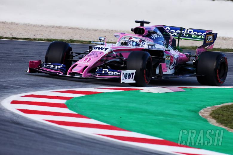 F1: Racing Point expecting 'different F1 car' in Melbourne - Perez