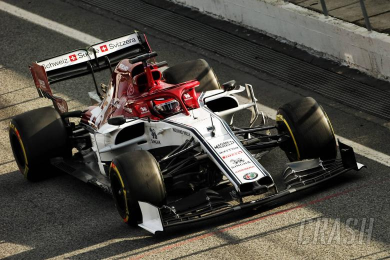 F1: Barcelona F1 Test 1 Times - Monday 3PM