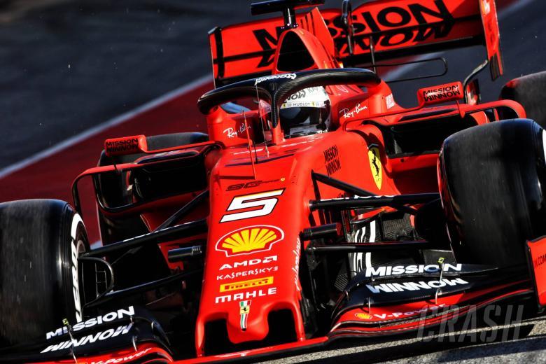 F1: Vettel fastest for Ferrari on opening morning of F1 testing