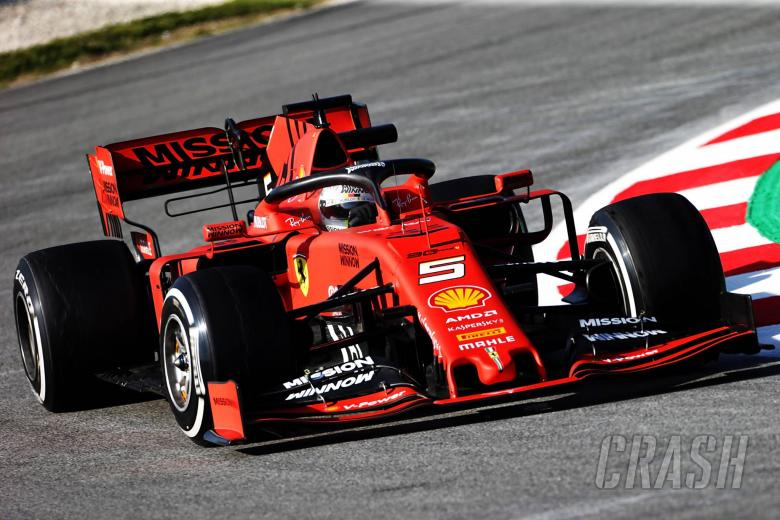 F1: Ferrari, Vettel end opening day of F1 testing fastest