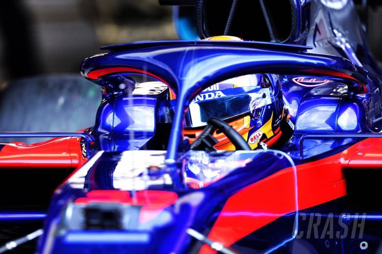 Alexander Albon (THA) Scuderia Toro Rosso STR14. 19.02.2019.