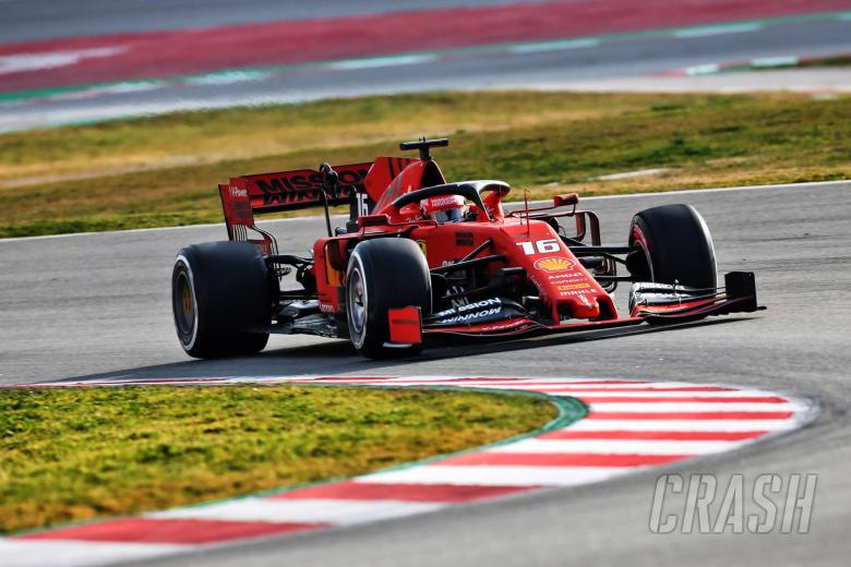 F1: Leclerc leads, Ricciardo hits trouble on 2nd morning of F1 testing