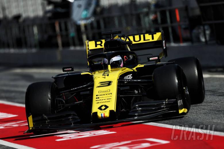 F1: Barcelona F1 Test 1 Times - Wednesday 3PM