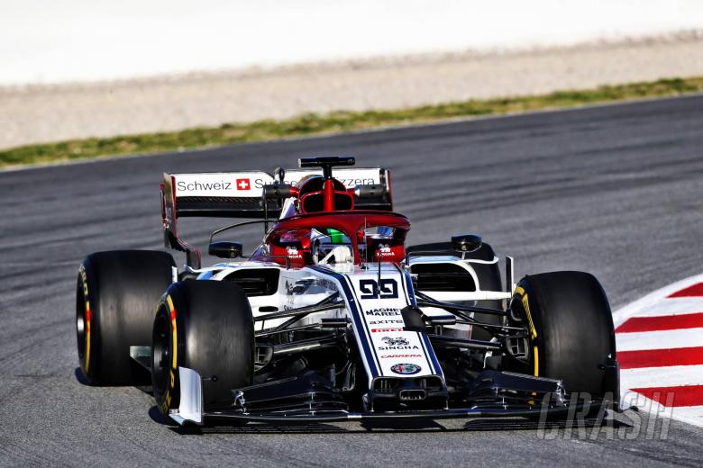 Antonio Giovinazzi (ITA) Alfa Romeo Racing C38. 26.02.2019.