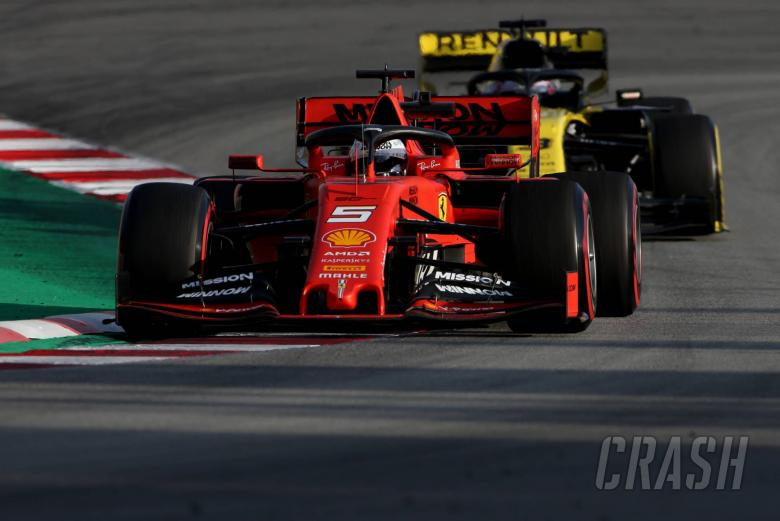 F1: Vettel: 2019 F1 cars still tricky to follow