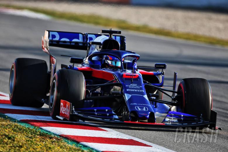 Alexander Albon (THA) Scuderia Toro Rosso STR14. 28.02.2019.