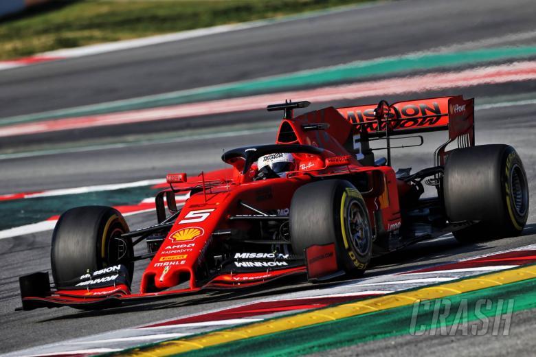 Sebastian Vettel (GER) Ferrari SF90. 01.03.2019.