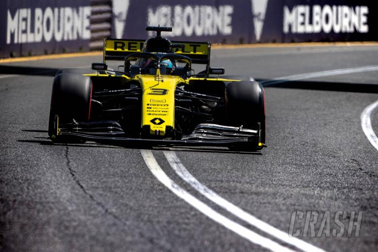 F1: Ricciardo: 2019 Renault F1 challenger currently a top-eight car