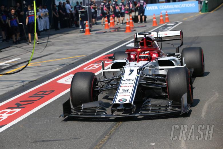 Raikkonen: Early pit stop caused by issue not strategy