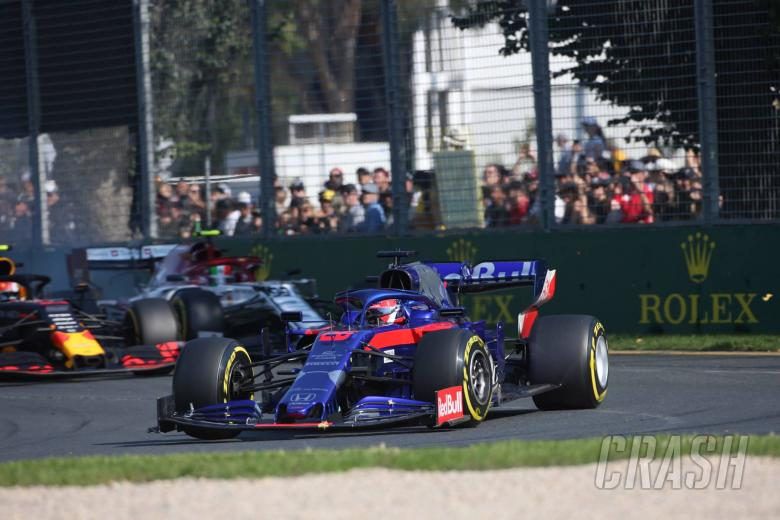 F1: Kvyat 'pushed like an animal' in charge to comeback point