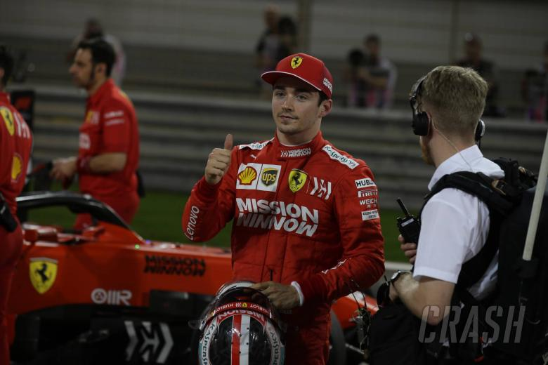 "7675f46ad40a Charles Leclerc ""extremely happy"" after first F1 pole position"