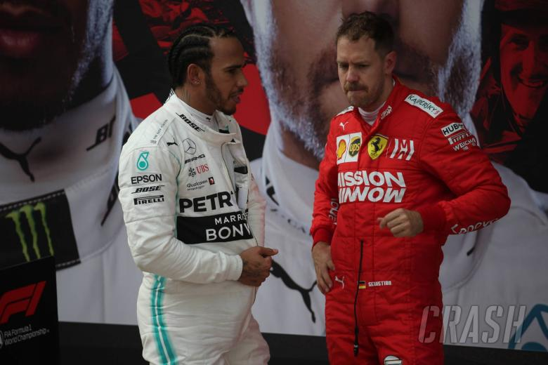 F1: Hamilton paying no attention to Vettel points gap
