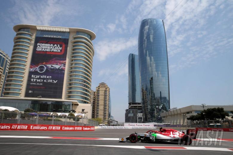 F1 Azerbaijan Grand Prix - Hasil FP2