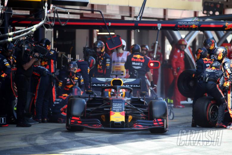 12.05.2019 - Race, Pit stop, Max Verstappen (NED) Red Bull Racing RB15