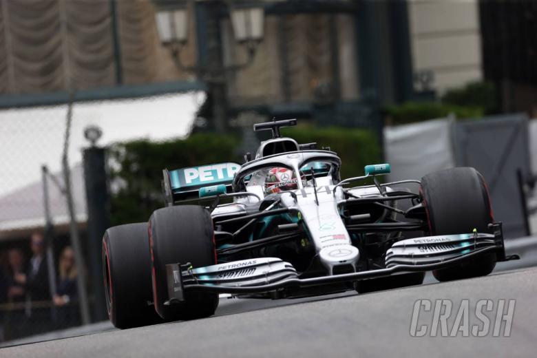 23.05.2019 - Free Practice 2, Lewis Hamilton (GBR) Mercedes AMG F1 W10