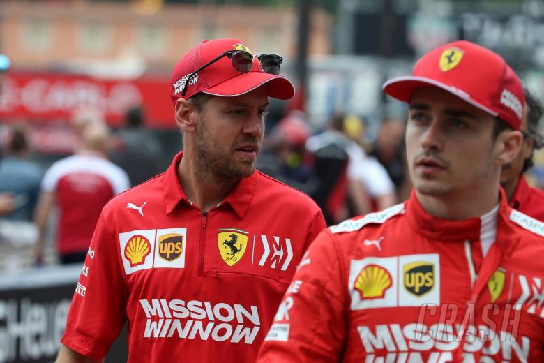 Vettel: Battle with Leclerc at Ferrari positive for team