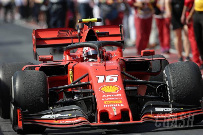 Leclerc tidak diberitahu tentang penalti Vettel oleh Ferrari