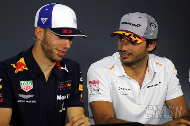 20.06.2019 - Press conference, Pierre Gasly (FRA) Red Bull Racing RB15 and Carlos Sainz Jr (ESP) Mclaren F1 Team MCL34