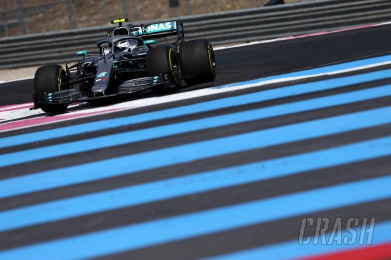 Bottas menutup GP Prancis tercepat dengan Mercedes 1-2