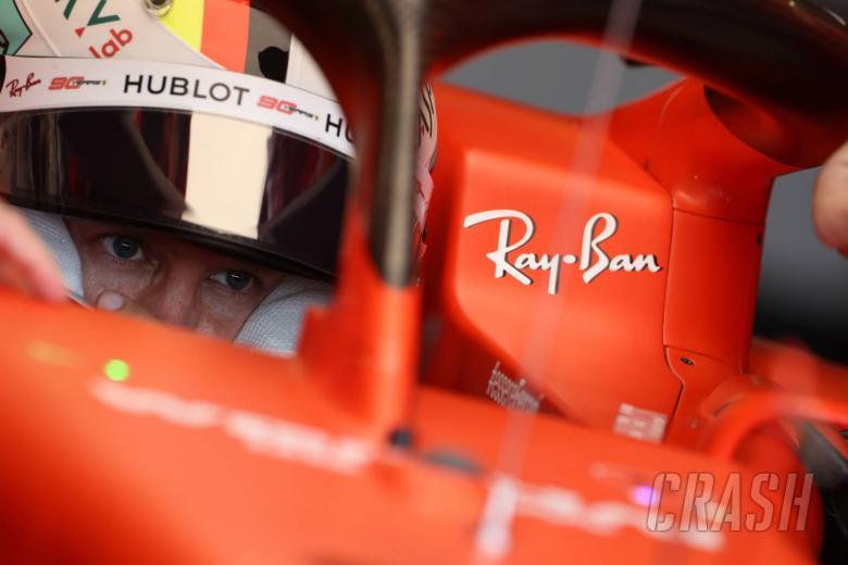Vettel memimpin Ferrari 1-2 pada latihan pembukaan GP Jerman
